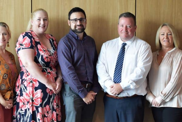 The leadership team at MacKillop Catholic College